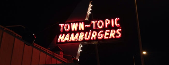 Town Topic Hamburgers is one of KC Hamburgers: the best of the burger.