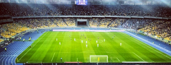 Estadio Olímpico de Kiev is one of Lugares favoritos de Медичи.