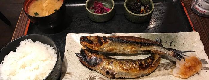 焼魚食堂 魚角 学芸大学店 is one of Gespeicherte Orte von Hide.