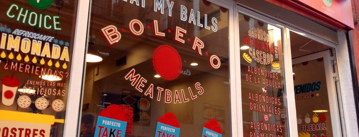 Bolero Meatballs is one of 🇪🇸 MAD city.