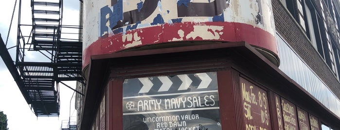 Army Navy Surplus U.S.A. is one of Windy.
