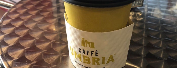 Caffe Umbria is one of Coffee Tea and Sympathy.