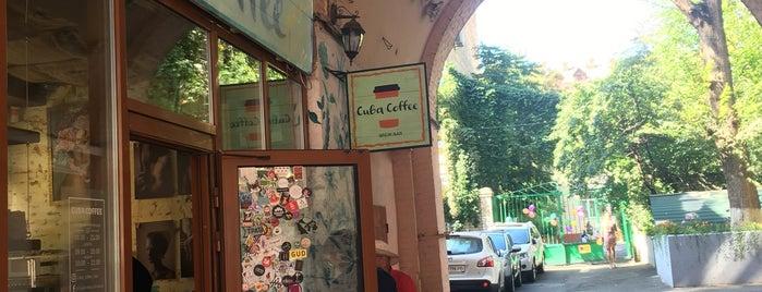 Cuba Coffee is one of Coffee & desserts in Kyiv.