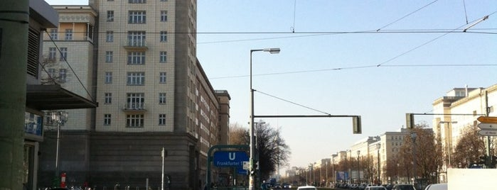 Karl-Marx-Allee is one of Berlin Moderna.