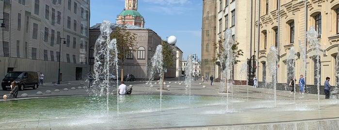 Фонтан на Биржевой площади is one of Elena 님이 좋아한 장소.