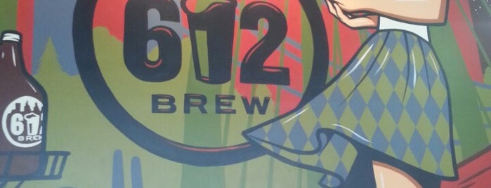 612Brew is one of Tap Rooms / Breweries in the Greater MN Area.