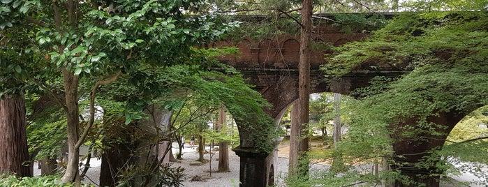 Nanzen-ji Temple is one of Orte, die Fernando gefallen.