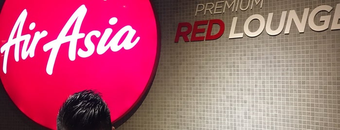 AirAsia Premium Red Lounge is one of Lieux qui ont plu à Danny.