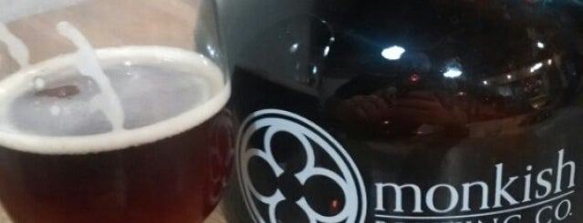 Monkish Brewing Co. is one of Los Angeles + SoCal Breweries.