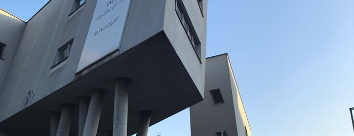 Zaha Hadid Haus is one of Vienna.