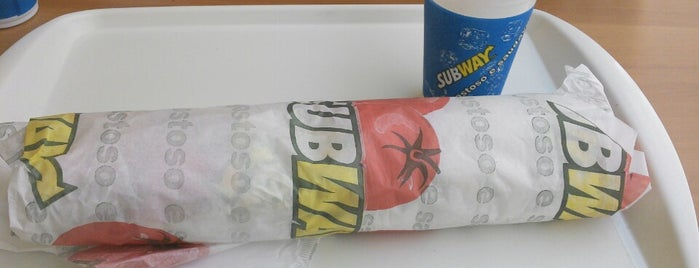 Subway is one of Sampa 3.