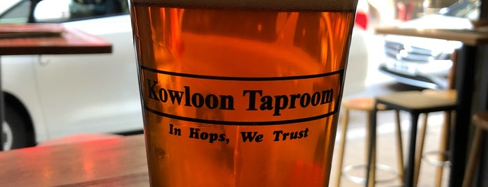Kowloon Taproom is one of Hong Kong.