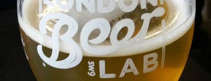 London Beer Lab is one of Pubs - Brewpubs & Breweries.