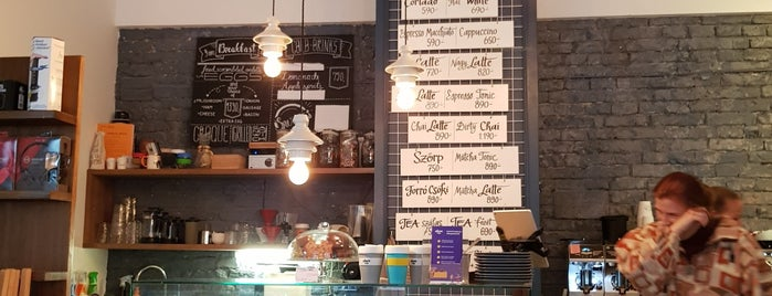Kaffeine Espresso Bar is one of สถานที่ที่ Adam ถูกใจ.