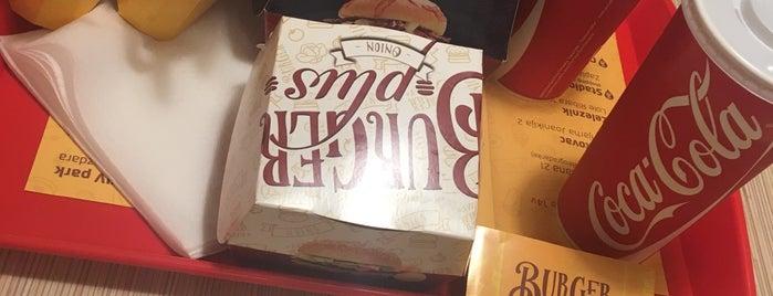 Burger plus is one of Posti che sono piaciuti a James.