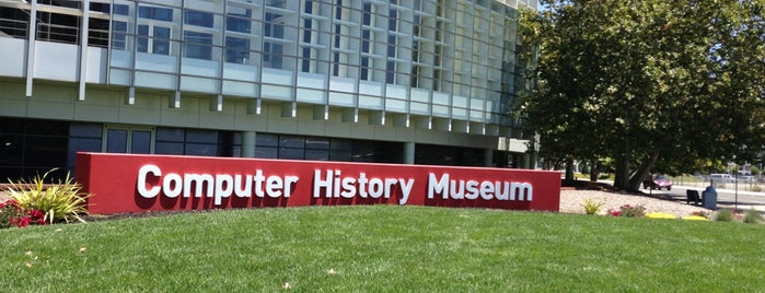 Computer History Museum is one of Out of town.