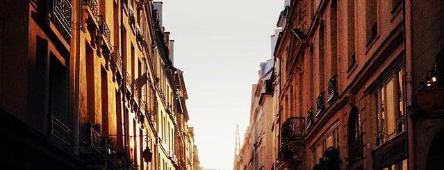 Île Saint-Louis is one of Paris.