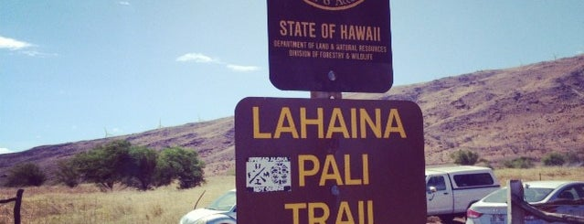 Lahaina - Pali Trail is one of Maui places to check out.