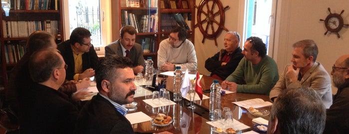 Deniz Ticaret Odası is one of Orte, die İbrahim gefallen.