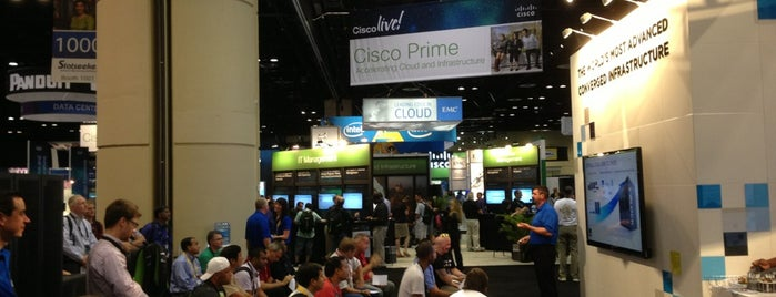 VCE Booth 1011 CLUS 2013 #VblocksRock is one of Cisco Live US 2013.