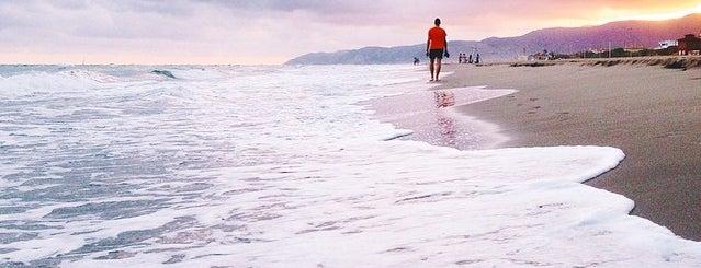 Platja de Gavà is one of Les millors platges prop de Barcelona.