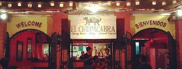 El Chupacabra is one of Manila.