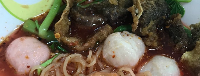 ซ้งโภชนา ลูกชิ้นปลาทำเอง is one of BKK_Noodle House_1.