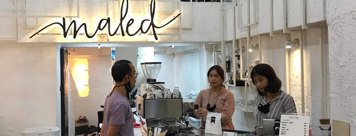 Maled Coffee Bar is one of 2020 Sep. Chiang Mai.