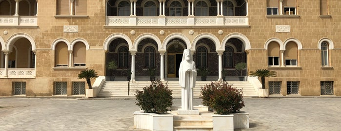 ARCHBISHOP KYPRIANOS SQ is one of Nikosia.