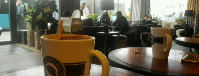Espresso House is one of Marcu Fiordos'un Beğendiği Mekanlar.