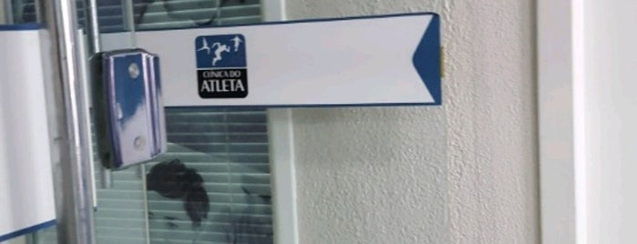 Clinica Do Atleta is one of meus lugares.