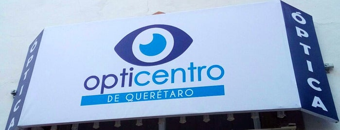 Opticentro de Querétaro is one of Orte, die Lucio gefallen.