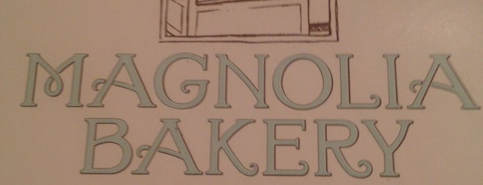 Magnolia Bakery is one of To do in NYC with Ciccio.