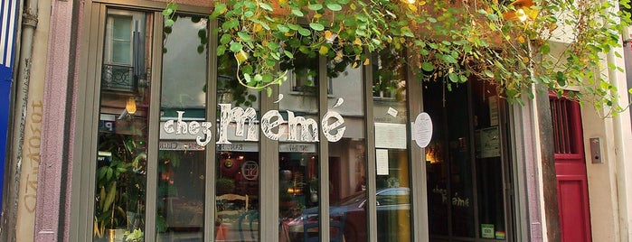 Chez Mémé is one of Restaurants I'd like to go to sometimes.