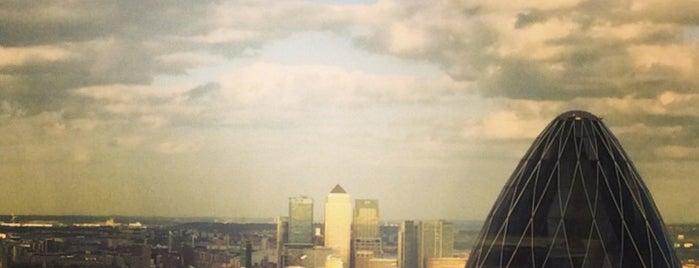 Vertigo 42 is one of Breathtaking Views of London.