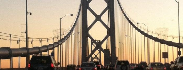 Ponte São Francisco-Oakland is one of San Francisco Bay.