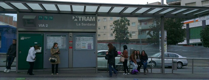 Tram T1/T2/T3 La Sardana is one of Marco's Liked Places.