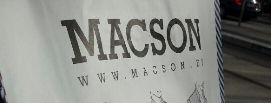 Macson (CC L'Illa) is one of Tempat yang Disukai jordi.
