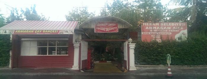 Armağan Çay Bahçesi is one of Locais curtidos por Kiki.