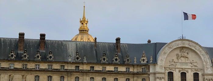 Musée de l'Armée is one of Tempat yang Disukai Ye.