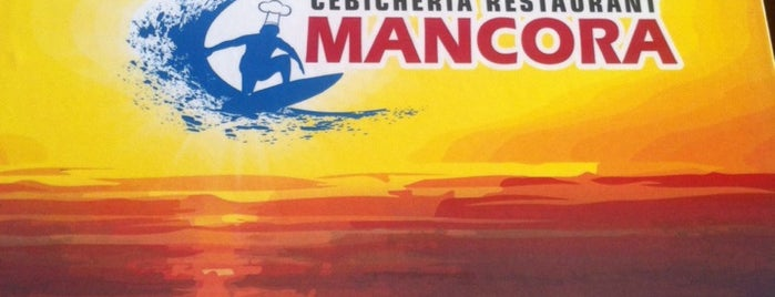 Mancora Restaurant Cebicheria is one of Lieux sauvegardés par George.