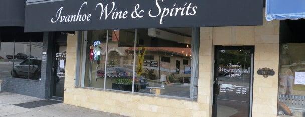 Ivanhoe Wine & Spirits is one of Recently Opened.