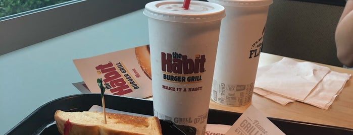 The Habit Burger Grill is one of 'round home.