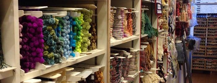 Britex Fabrics is one of SF.