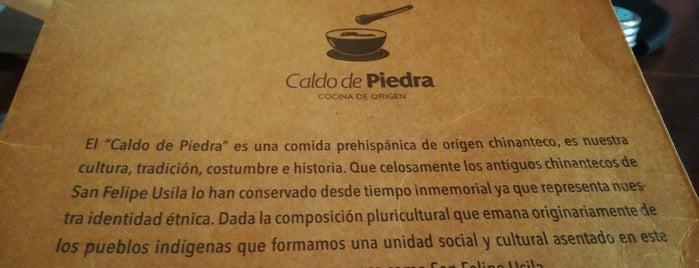 Caldo De Piedra / Cocina De Origen is one of Oaxaca.
