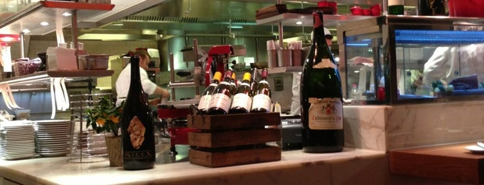 Bar Boulud is one of London's great locations - Peter's Fav's.