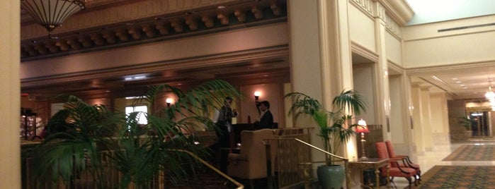 Fairmont Gold Lounge is one of Stephenさんのお気に入りスポット.