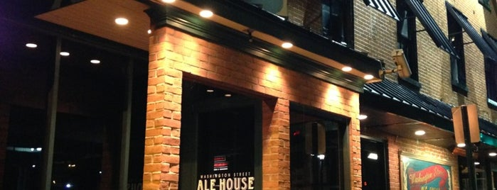 Washington Street Ale House is one of National Redskins Rally Bars.