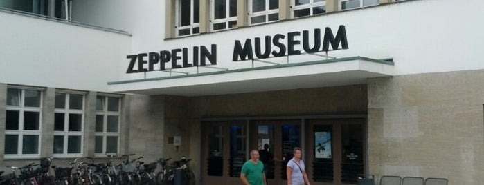 Zeppelin Museum is one of Orte, die Wallace gefallen.