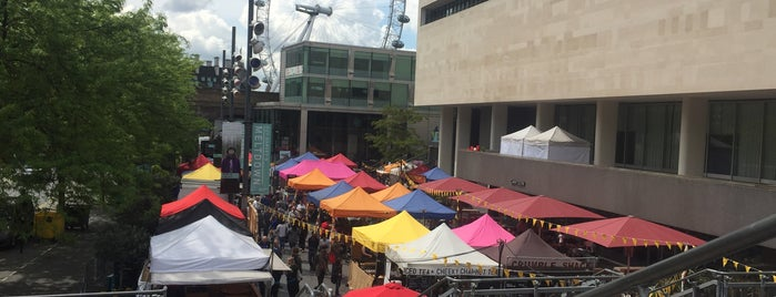 Southbank Centre Food Market is one of Where to go in London.